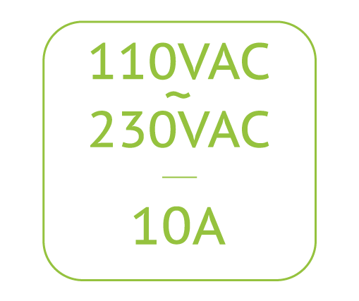 GroLab™230VAC/110VAC compativel with PowerBot, the power module from the GroLab™ grow controller system