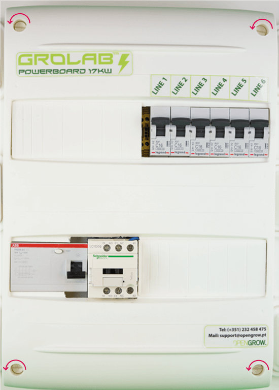 GroLab PowerBoard Installation